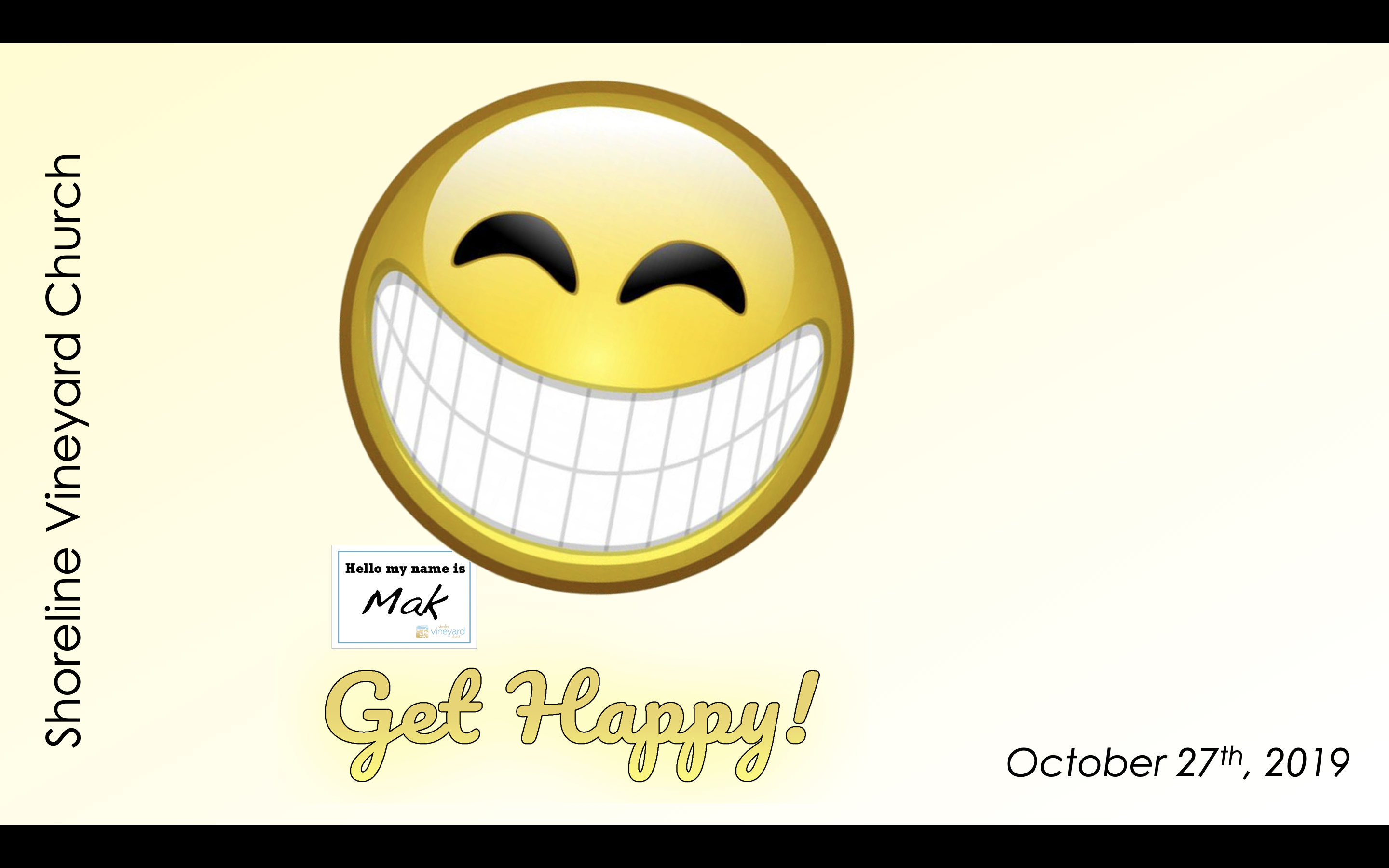 Get Happy – Holding on to Happiness